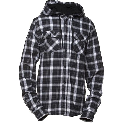 Shirt Moskav Lumber Flannel nomis lumber flannel hooded shirt s glenn
