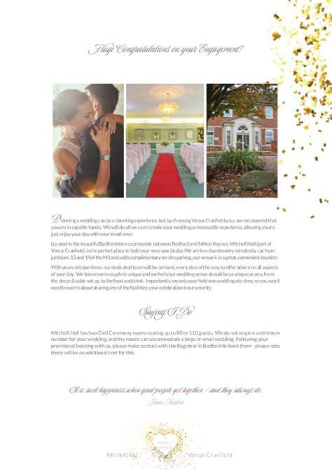 Wedding Brochure 2016 by Wedding Brochure 2016