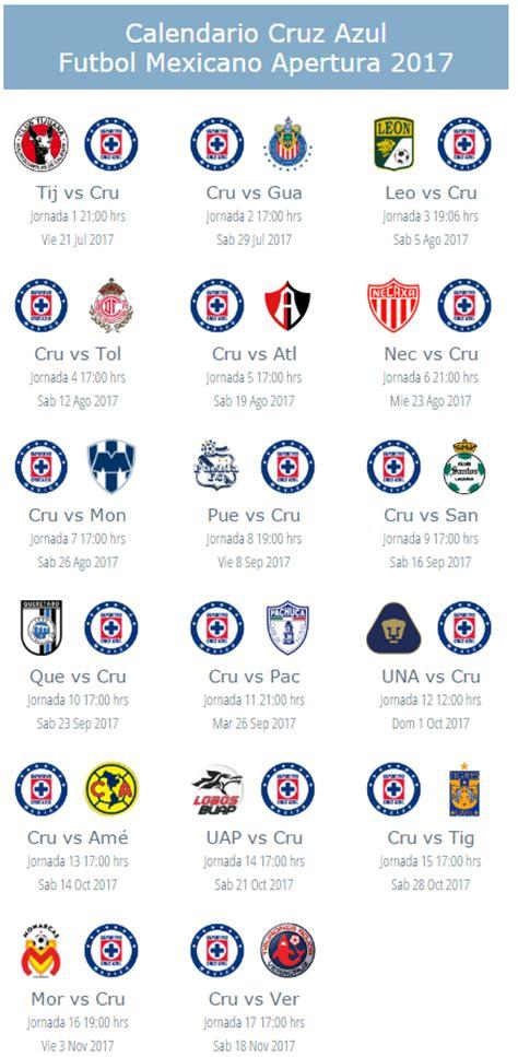 Calendario De Futbol 2017 Calendario De Pumas Unam Para El Apertura 2017 Futbol