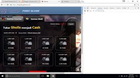tutorial hack char pb tutorial cara hack garena shell hack cash pb