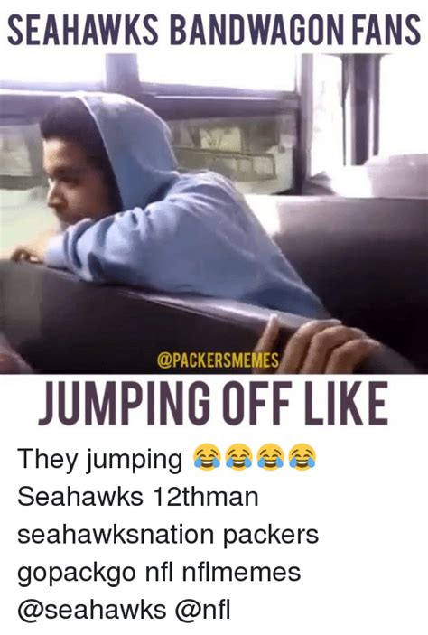 Seahawks Bandwagon Meme - 25 best memes about green bay packers nfl and meme