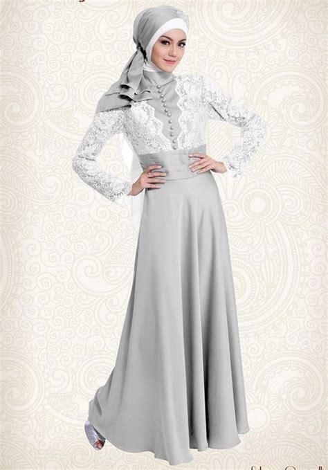 gaun gamis pesta silver cavalli yang elegan http gamispesta net gaun gamis pesta silver