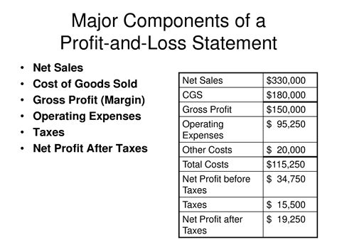 doc 700860 profit and loss statement free templates