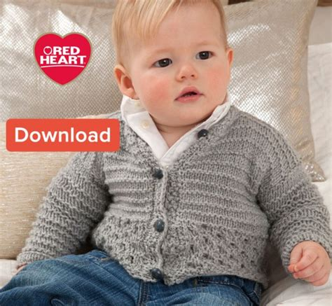 red heart knitting patterns sweaters for boy free red heart baby knitting pattern cardigan