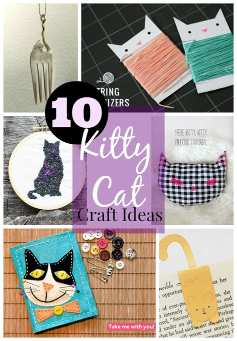 cat ideas 10 cat craft ideas do small things with great