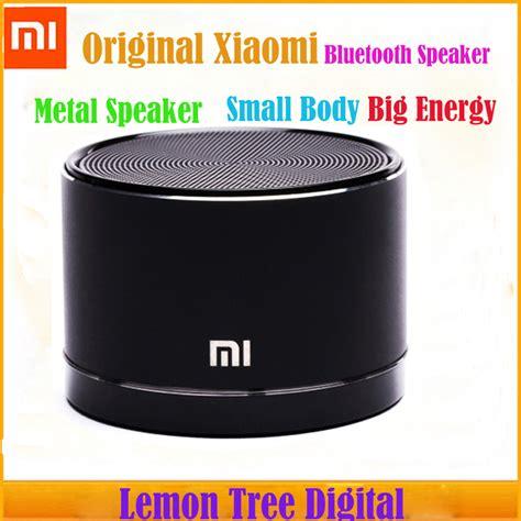 Speaker Telpon Xiaomi Mi3 Original Original Xiaomi Wireless Bluetooth Speaker Small Steel Gun