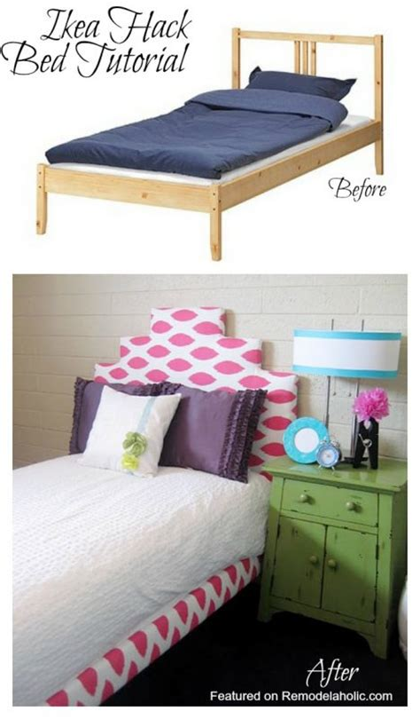 ikea tarva bed hack remodelaholic 25 ikea tarva chest hacks