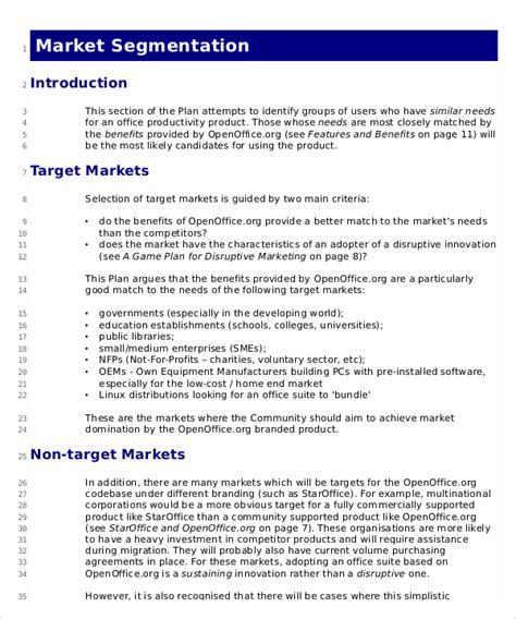 Marketing Strategy Plan Template 12 Word Pdf Documents Download Free Premium Templates Strategic Marketing Plan Template