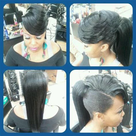 sew in ponytail with bangs 32 best ponytails with bangs images on pinterest natural