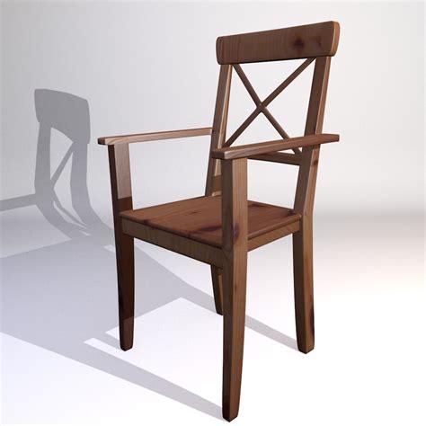 ikea kitchen chairs 3d model ikea kitchen chaie ingolf 3d model furniture 3d