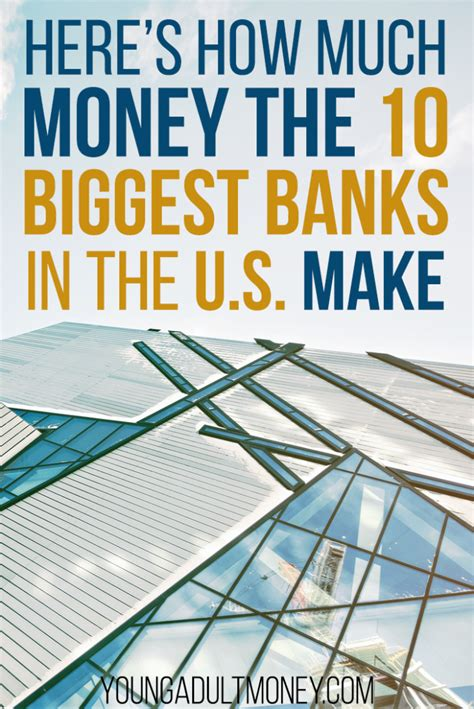 How Much Do Investment Bankers Make Post Mba by Here S How Much Money The 10 Banks In The Us Make
