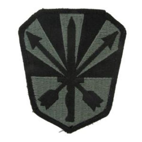 Hq 16081 Green Militery Patches Dress army national guard hq patches