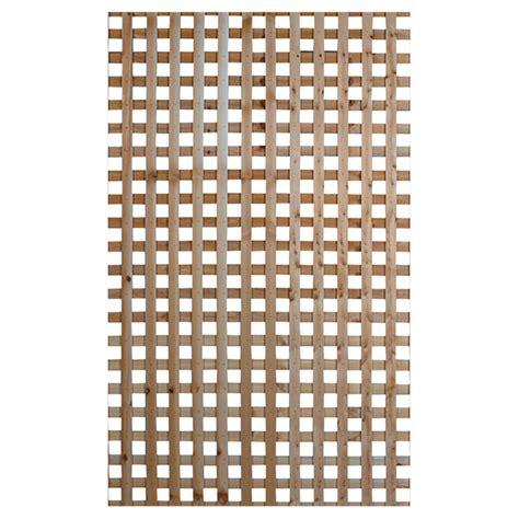 lattice quot privacy quot cedar lattice 8 x 4 rona