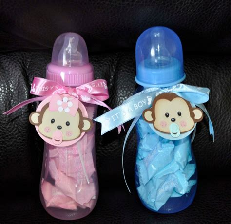 Baby Shower Bottle by Bottle Baby Shower Centerpiece Ideas