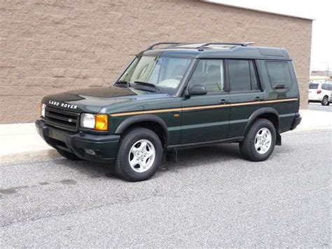 how cars run 1999 land rover discovery series ii parental controls find used 1999 land rover discovery series ii dealer maintained looks and runs excellent in