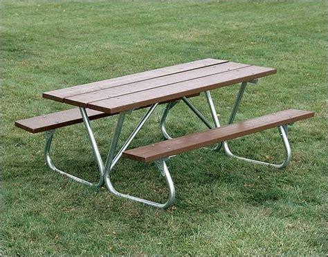 heavy duty bolt thru picnic table contemporary outdoor