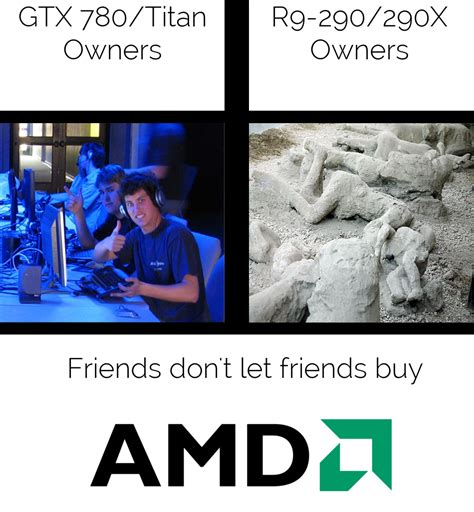 Amd Meme - geforce gtx 980 alleged benchmark and tdp surfaces just