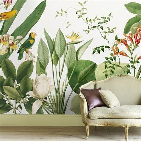 birds  paradise tropical wall mural   tropical