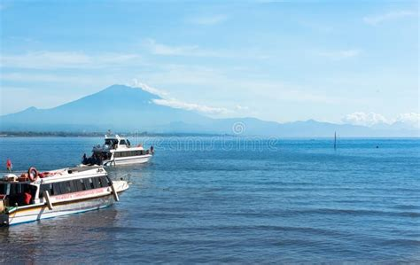 ferry boat  indonesia stock image image  transport