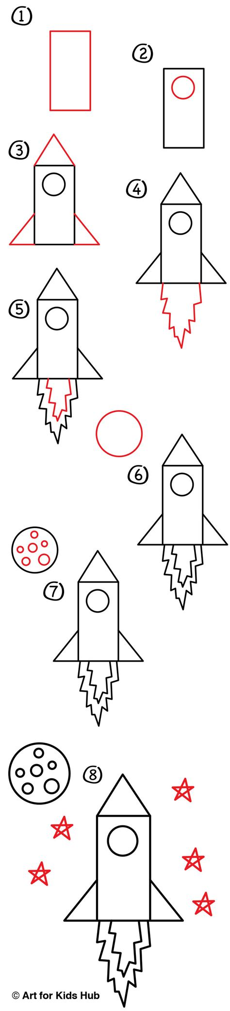 doodle how to make rocket how to draw a rocket artists for hub
