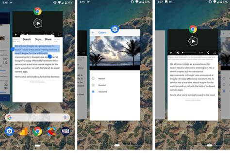 android gestures 4 ways android p s gesture navigation is better than the iphone x s and 4 ways it s not pcworld
