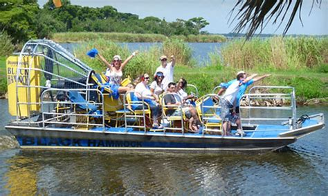 boat ride miami groupon up to 51 off airboat ride in oviedo black hammock