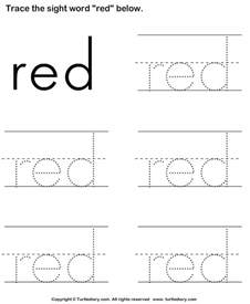 sight word worksheet new 942 sight word trace worksheet