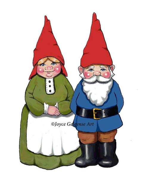 items similar to gnome clipart hand drawn clipart