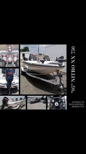 nitro bass boats for sale in oklahoma nitro nx boats for sale in oklahoma