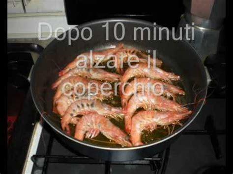 come cucinare le mazzancolle in padella ricette ricettario riecette