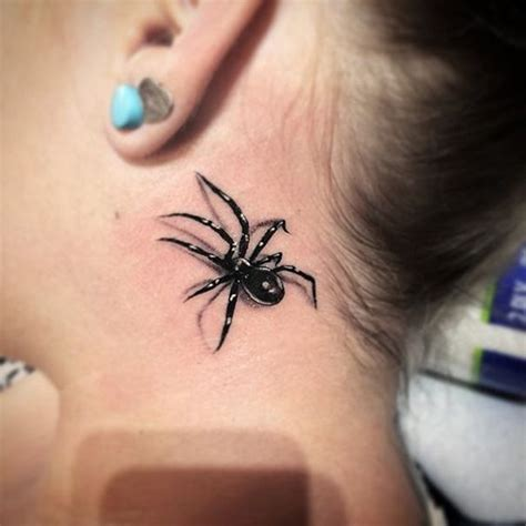 spider web tattoo behind ear 34 best spider tattoo desings images on pinterest tattoo