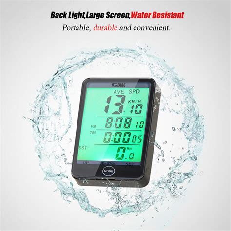 Speedometer Sepeda 14 Fungsi Lcd Display speedometer sepeda touch lcd sd 576a black jakartanotebook