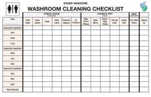 bathroom checklist washroom checklist emotibikers com