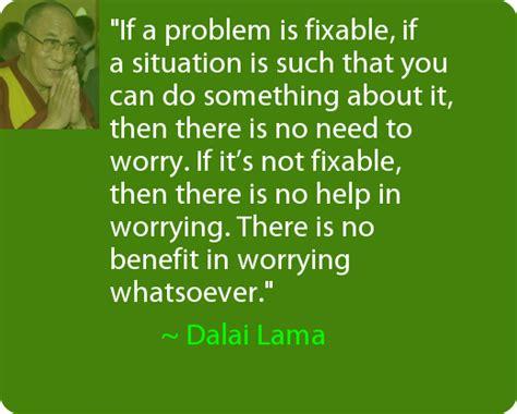 dalai  quotes  worrying quotesgram