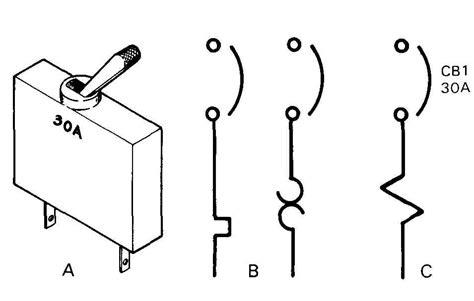 schematic symbol circuit breakers circuit breaker form 2
