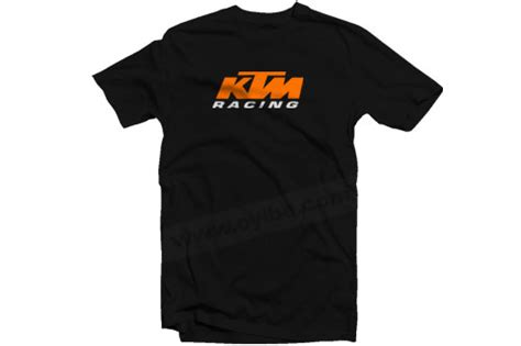 t shirt ktm racing oyibe
