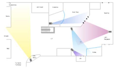 video surveillance layout camera layout schematic