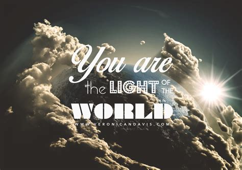 You Are The Light Of by You Are The Light Of The World N Davis