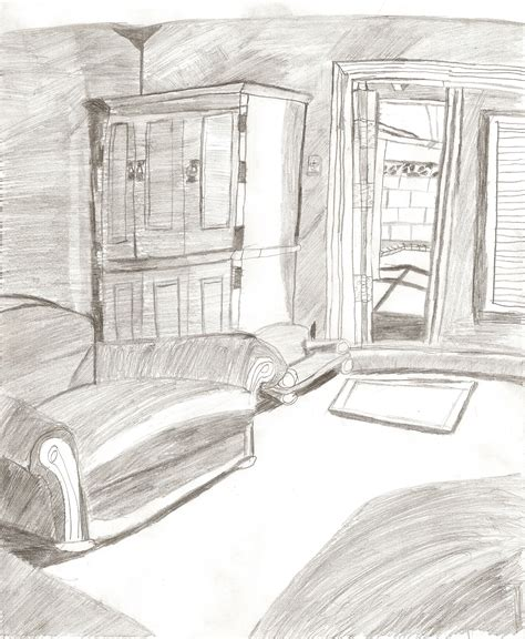 sketch a room living room sketch by pielovinllamas on newgrounds