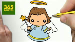 imagenes de la navidad kawaii como dibujar un angel para navidad paso a paso dibujos