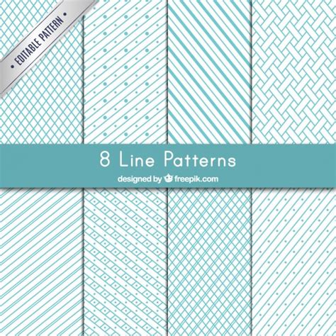 pattern lines eps variety of lines patterns vector free download