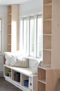 Bookcase Window Seat Diy Window Seat And Built Ins Project S Started House