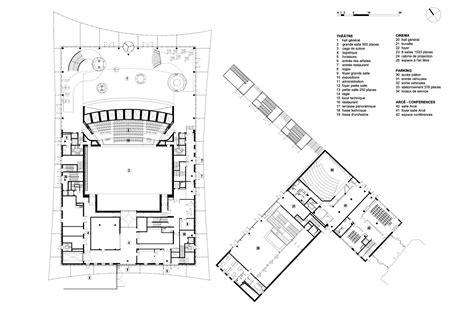 Sydney Opera House Floor Plan by Grande Teatro Albir Dominique Perrault Architecture