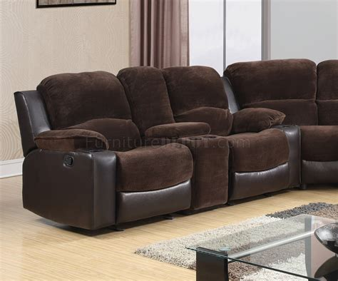 chocolate brown sectional sofa 1301 motion sectional sofa in chocolate brown by global