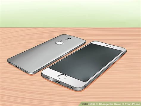 iphone 5s color change 3 ways to change the color of your iphone wikihow