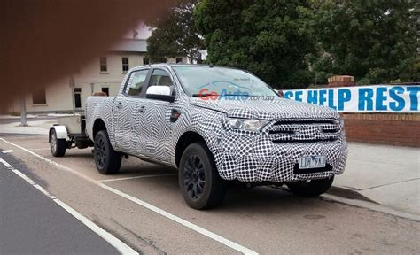 Next Ford Ranger by Ford 2018 Ranger Exclusive Next Ford Ranger Spied In