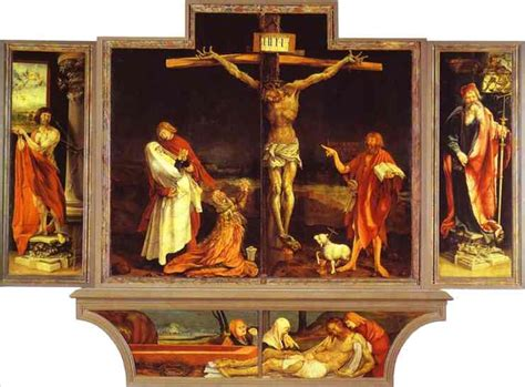 by matthias grunewald the mocking of christ art gallery