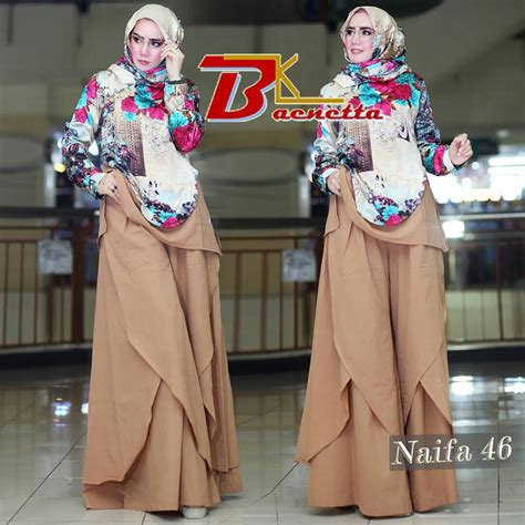 Gamis Wolfis Polos Ori Ninna 46 murah n ori collection naifa 46 by baenetta