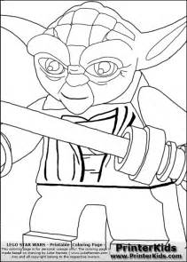 lego wars yoda coloring pages free coloring pages of wars yoda