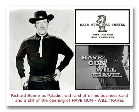 gun will travel business card template this day in quotes gun will travel lives on as